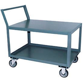 Low Profile Steel Table Carts With Offset Handle