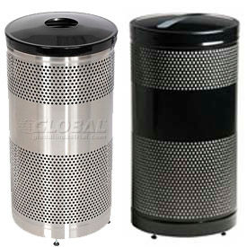 Rubbermaid® Perforated Recycling Receptacles