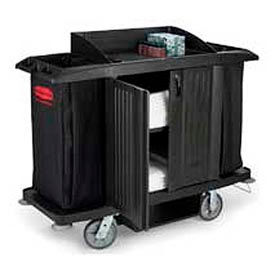 Rubbermaid® Full Size Housekeeping Cart with Doors 6191