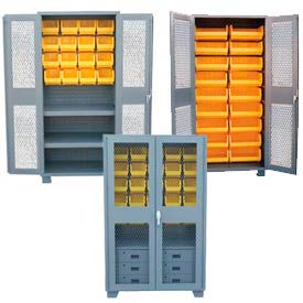 Clear View Heavy Duty Bin Cabinets