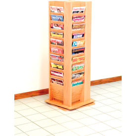 Wooden Mallet -  Magazine Rotary Floor Display