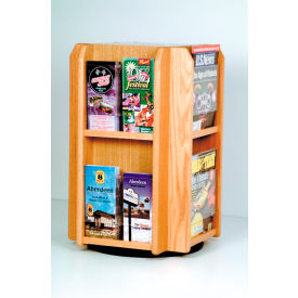 Wooden Mallet -  Countertop Rotary Literature Display
