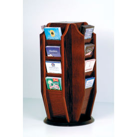 Wooden Mallet -  Countertop Brochure Rotary Display