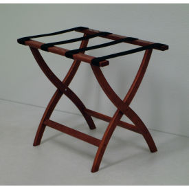 Wooden Mallet - Wood Luggage Rack With Convex / Straight Legs