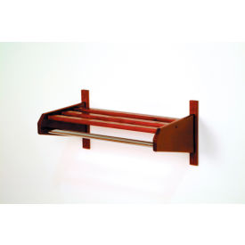 Wall Mount Coat Racks with Hanger Bars - Wood