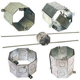Steel Concrete Rings