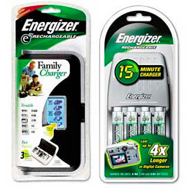 Energizer® Recharge™ Battery Chargers