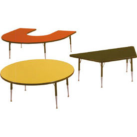 Allied -  Height Adjustable Tables - Choice Of Shapes