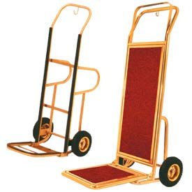 Deluxe Bellman Hotel Luggage Hand Trucks