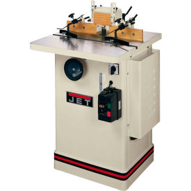 """JET 708322 Model JWS-25CS 3HP 1-Phase 230V Only 1/2"""" & 3/4"""" Spindle Shaper W/ 25""""x 25"""" Table"""
