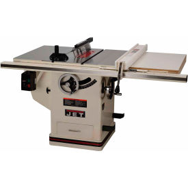 """JET 708674PK 3HP 1-Phase 30"""" Rip 10"""" Deluxe XactaSaw Table Saw"""
