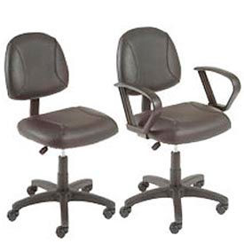 Boss Chair -  Plush Leather Task Chair