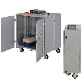 Folding Steel Security Cart