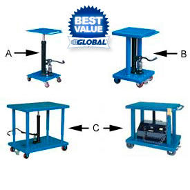 Work Positioning Lift Tables Work Positioners
