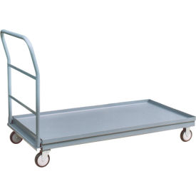 Heavy Duty Raised Edge Steel Deck Platform Trucks