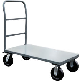 Reinforced Heavy Duty Steel Deck Platform Trucks