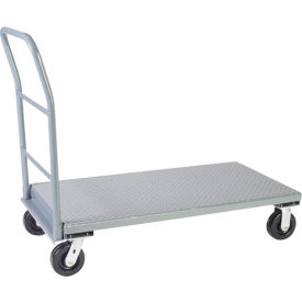 Diamond Plate Steel Deck Platform Trucks