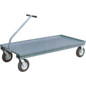 Steel Deck Platform Trucks With Pull Handle