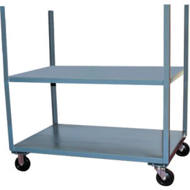 Mobile Steel Table Carts With Corner Stakes