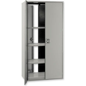 Pucel All-Welded  Heavy Duty Front and Back Door Storage Cabinets