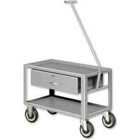 Pucel™ Low-Profile Pull Table Carts