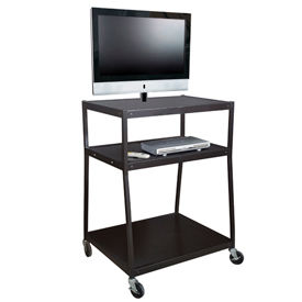 Sandusky Wide Body Flat Screen TV Carts