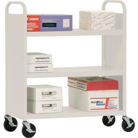 Sandusky® Welded Flat Shelf Mail & Office File Carts