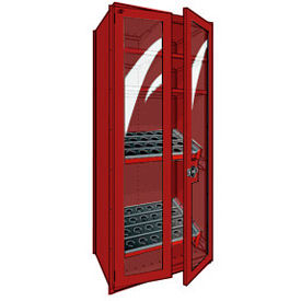 36 Inch Wide Rousseau Slanted Tool Storage Shelving