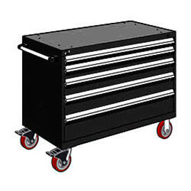 "Rousseau 48""W Mobile Heavy Duty Modular Drawer Cabinets"