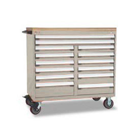 "Rousseau 48""W Mobile Multi Drawer Cabinets"