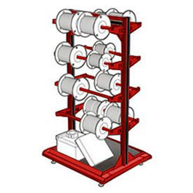 Rousseau Wire Spool Reel Rack