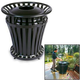 Rubbermaid Weathergard® Outdoor Trash Containers