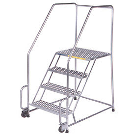 Stainless Steel Tilt And Roll Ladders