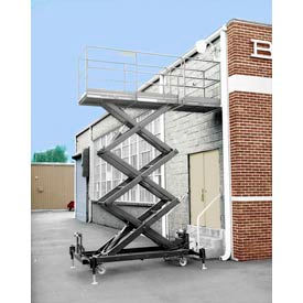 Hydraulic Powered Elevating Platform Maintenance Lifts
