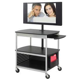 Safco® Scoot™ Flat Panel Multimedia AV Carts