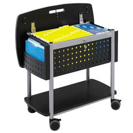 Safco® Scoot™ Mobile Filing Carts