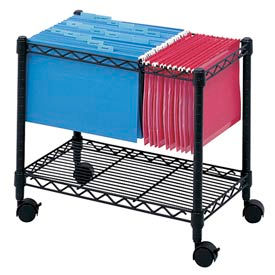 Safco® Wire Mobile File Carts