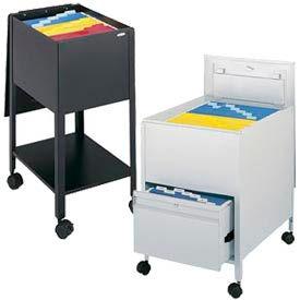 Safco® Mobile Steel Tub File Carts