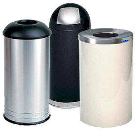 Round Waste Receptacles