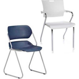OFM -  Plastic Stack Chairs
