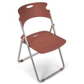 OFM -  Contoured Plastic Folding Chairs