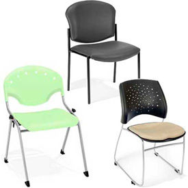 OFM -  Rico Series Plastic Stack Chairs