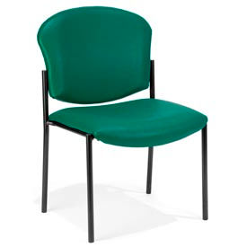 OFM -  Anti-Microbial Vinyl Upholstered Armless Reception Chairs