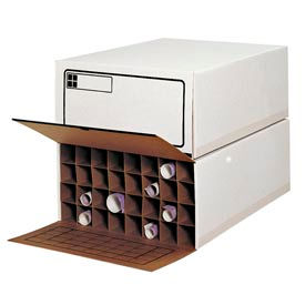 Safco® - Corrugated Roll Files Storage With Adjustable Tabs