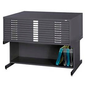 Safco® - Steel Flat File With Optional Bases