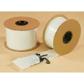 Speedy Pac™ 2 Mil Pre-Opened White Front Poly Bags On Rolls