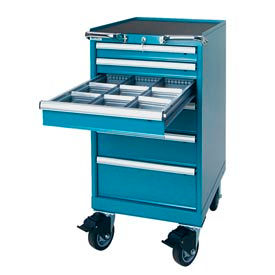 Lista® 18 Inch Wide Mobile Modular Drawer Cabinets
