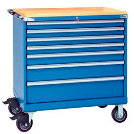 "Lista® 40-1/4""W Mobile Modular Drawer Cabinets"