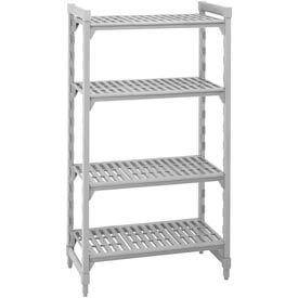 "Camshelving® Vented Plastic Shelving 64"" High"