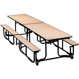 KI Uniframe® Mobile Cafeteria Table With Benches